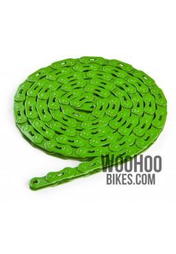 """Dartmoor Core Single Speed Chain 1/2"""" x 3/32"""" Green"""