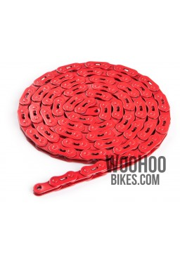 "Dartmoor Core Single Speed Chain 1/2"" x 1/8"" Red"