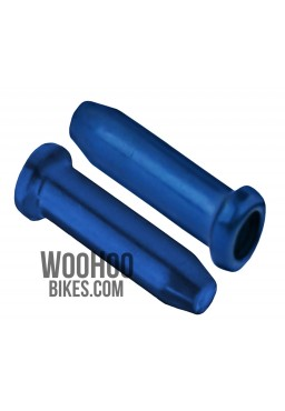 ACCENT Universal Brake or Derailleur Cable Ends 2 pcs. Blue