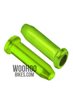 ACCENT Universal Brake or Derailleur Cable Ends 2 pcs. Green