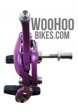 ALHONGA Fixed Gear Front Brake Calipers - Magenta