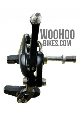 ALHONGA Fixed Gear Front Brake Calipers - Black