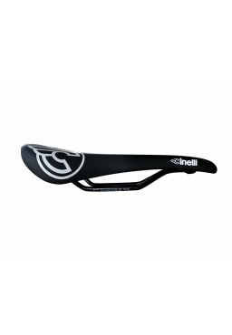 Cinelli C-Wing BLACK / WHITE LOGO Road Bicycle Saddle