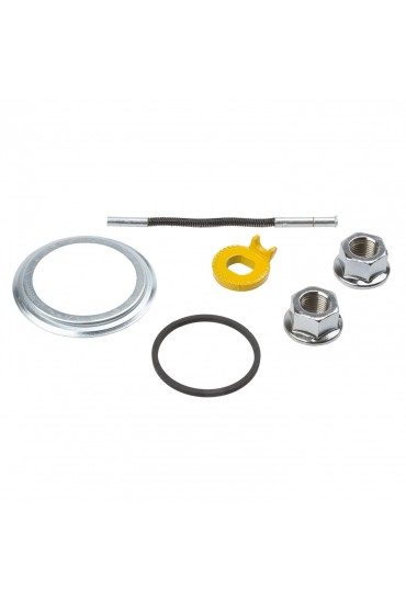 Hub Axle Nut HBT30 M9 with a movable flange 9mm - 2 pieces
