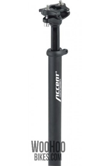 ACCENT SP-252 Bicycle Seatpost 27.2mm Black