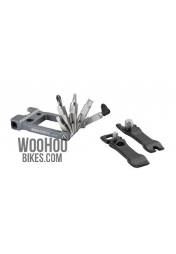 ACCENT AC-19 Multitool 19 function, alloy, graphite-black