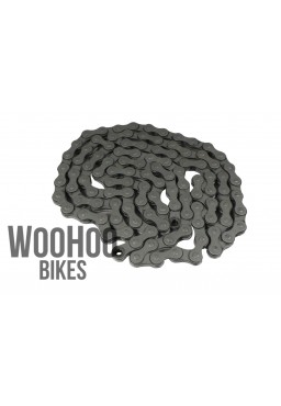 "KMC Z1NRB 1/2""x3/32"" Narrow Chain, Single Speed, BMX, Nexus - Gray"