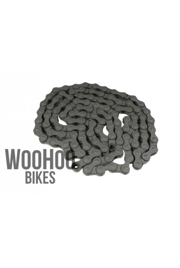 "KMC Z610RB 1/2""x3/32"" Narrow Chain, Fixed Gear, Single Speed, Gray"