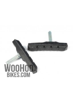 ACCENT Logan 70mm, Cantilever, V-Brake, Brake Shoes, Black