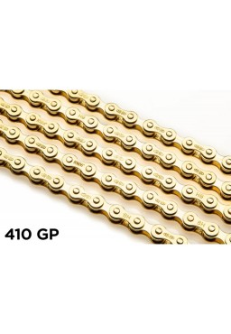 "IZUMI STANDARD GOLD 1/2"" x 1/8"" Chain for Track, Fixed Gear, Single Speed Bike"