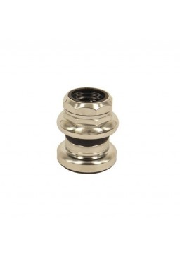Tange Seiki Passage 1 Inch  Threaded Headset - silver