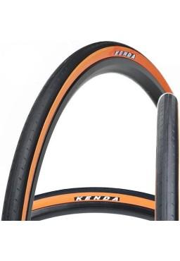 Kenda KONCEPT 700 x 23C Tire Black & Orange