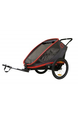 Hamax Outback 2in1 Bicycle Trailer - Charcoal