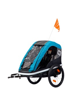 Hamax Avenida One Bicycle Trailer - Blue