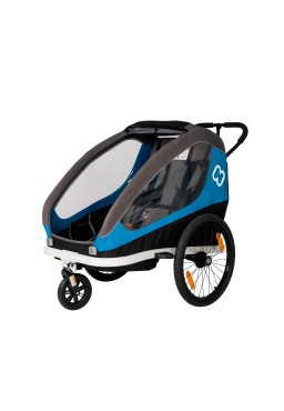 Hamax Traveller Twim Bicycle Trailer - Blue