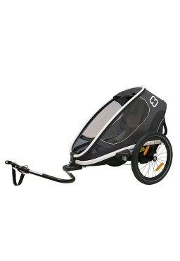 Hamax Outback One Bicycle Trailer - Grey