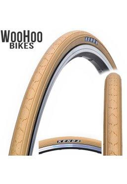 Kenda K152 700 x 25C Fixed Gear Tire Beige