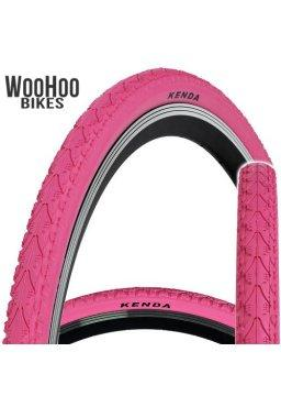 Kenda KHAN 700x38C Trekking Tourist City Urban Bicycle Pink Tire