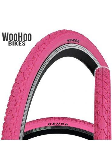 Kenda KHAN 700x38C Trekking Tourist City Urban Bicycle Pink Tire
