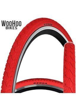 Kenda KHAN 700x38C Trekking Tourist City Urban Bicycle Red Tire