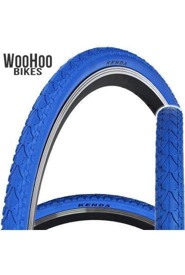 Kenda KHAN 700x38C Trekking Tourist City Urban Bicycle Blue Tire