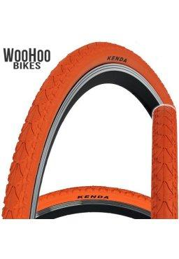 Kenda KHAN 700x38C Fixed Gear Tire Orange
