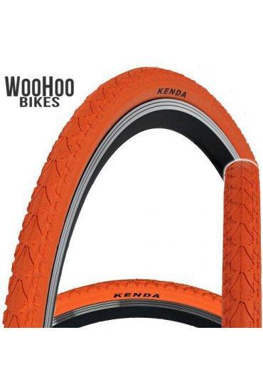 Kenda KHAN 700x38C Fixed Gear Tire Orange