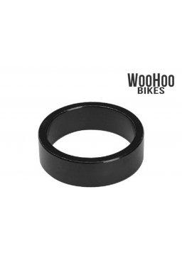 "ACCENT Headset Spacers 1-1/8"" 10mm Alluminium Black"