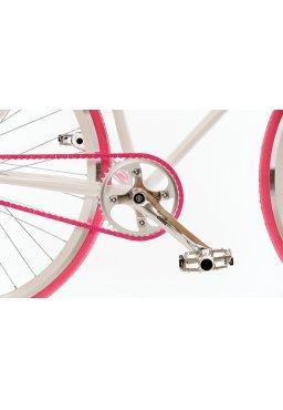 Łańcuch YBN Wąski 3/32'' Ostre Koło BMX Różowy