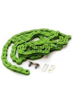Łańcuch YBN Wąski 3/32'' Ostre Koło BMX Zielony