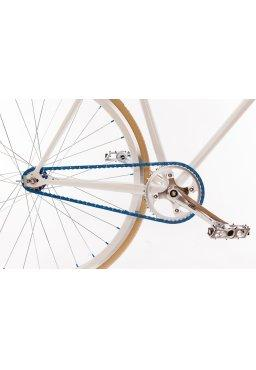 "Woo Hoo Bikes - BLUE 19"" - Fixed Gear Track Bicycle"
