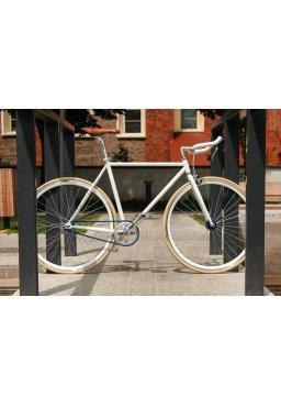 Rower Woo Hoo Bikes - BLUE 21,5'', Ostre Koło, Torowy
