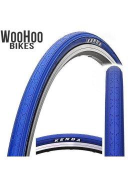 Kenda K152 700 x 25C Fixed Gear Tire Blue