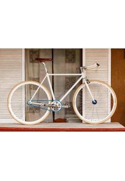 """Woo Hoo Bikes - BLUE 19"""" - Single Speed Bicycle"""