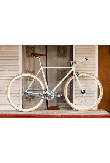Rower Woo Hoo Bikes Blue 19'', Single Speed