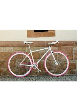 Rower Woo Hoo Bikes - PINKY 21,5'', Ostre Koło, Torowy