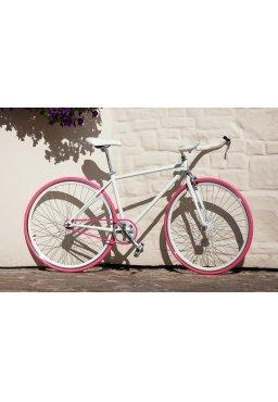 Rower Woo Hoo Bikes - PINKY 17,5'', Ostre Koło, Torowy
