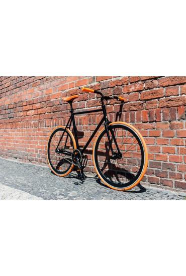 """Woo Hoo Bikes - ORANGE 15,5"""" - Fixed Gear Track Bicycle"""