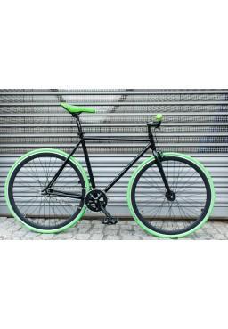 Rower Woo Hoo Bikes - GREEN, 19'', Ostre Koło, Torowy