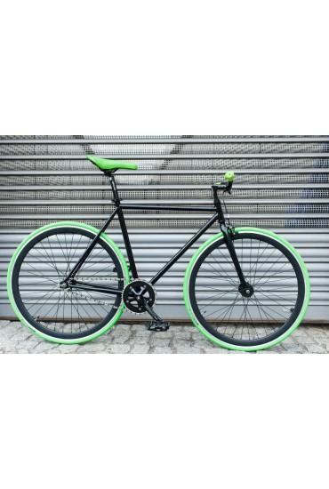 """Woo Hoo Bikes - GREEN, 19"""" - Fixed Gear Track Bicycle"""