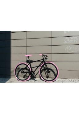 Rower Woo Hoo Bikes - PINK, 15,5'', Ostre Koło, Torowy