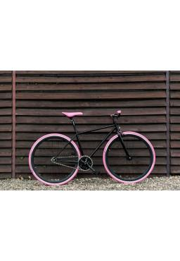 "Woo Hoo Bikes - PINK, 19"" - Fixed Gear Track Bicycle"