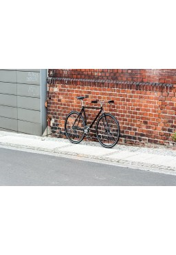 Rower Woo Hoo Bikes - Classic Black 19'', Ostre Koło, Torowy