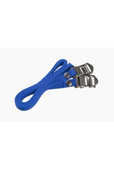 ACCENT AC-STRAP Toe Clip Pedal Straps - Blue