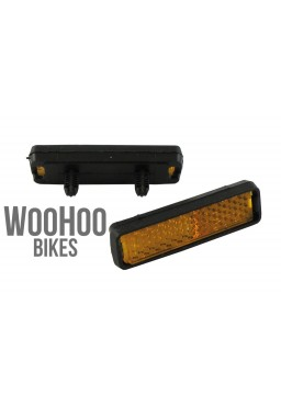 Contrast Lightweight Bike Pedal Reflectors, Set of 2 pcs.