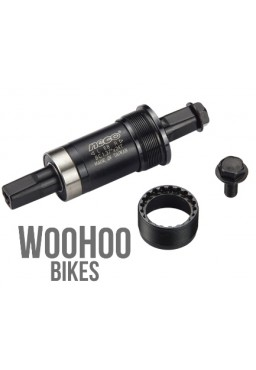 "NECO B910 122.5mm English Square Bottom Bracket 1.37"" x 24"