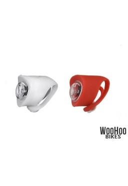 Zestaw Lamp Rowerowych LED, MACTRONIC Falcon Eye