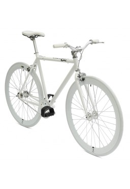 "Cheetah Original 23"" White Bicycle"