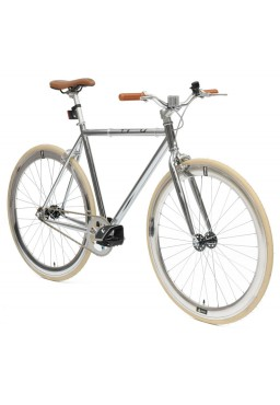 "Cheetah Original 21"" Chrome Bicycle"