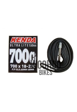 KENDA Inner Tube 28'' 700x18-23C FV 48mm ULTRA LITE